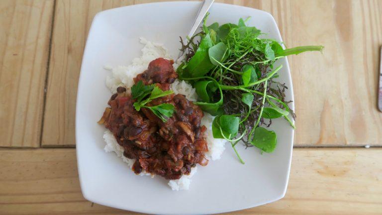 Recipe – Black Bean Chilli