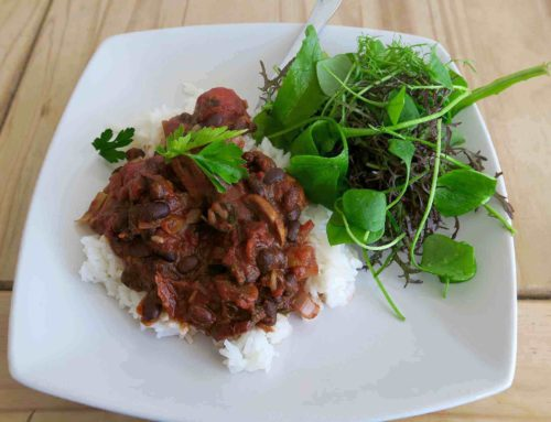 Recipe – Black Bean Chilli